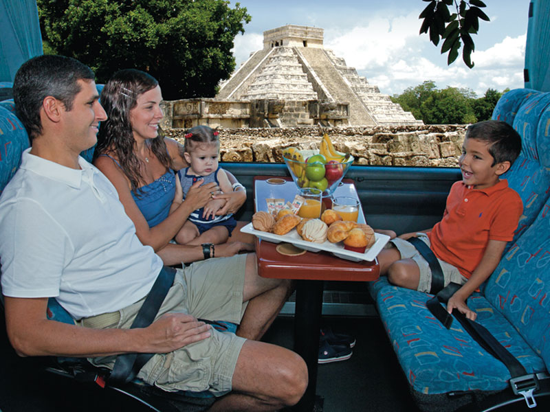 Cancun All Tours Chichen Itzá Sky Luxury Cruiser