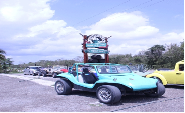 cozumel by jeep or buggy 5
