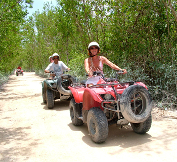atv and speed boat tour (1 people in one atv) 3