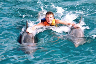 dolphin royal swim en cozumel 3